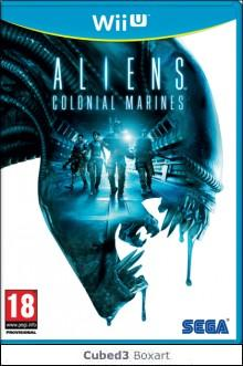Box art for Aliens: Colonial Marines (Cancelled)