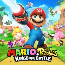 Box art for Mario + Rabbids Kingdom Battle