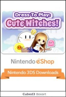 Box art for Dress to Play: Cute Witches!