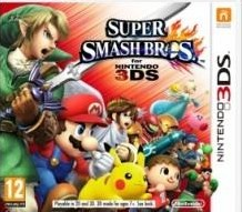 Box art for Super Smash Bros. for Nintendo 3DS