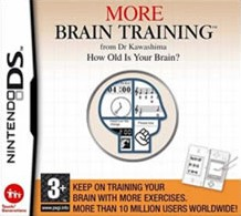 Box art for More Brain Training from Dr Kawashima: How Old Is Your Brain?