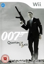 Box art for 007: Quantum of Solace