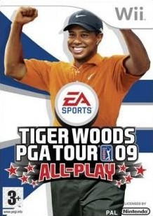 Box art for Tiger Woods PGA Tour 09 All-Play