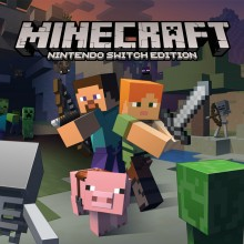 Box art for Minecraft: Nintendo Switch Edition