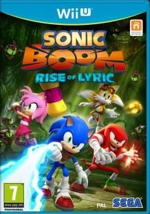 Box art for Sonic Boom: Rise of Lyric