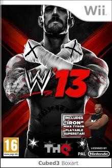 Box art for WWE '13