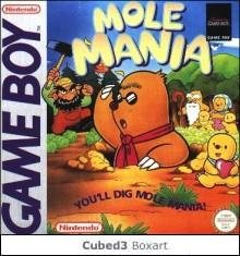 Box art for Mole Mania