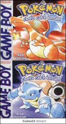 Box art for Pokémon Red Version / Blue Version