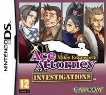 Box art for Ace Attorney Investigations: Miles Edgeworth