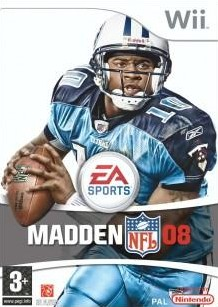Box art for Madden NFL 08