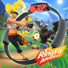 Box art for Ring Fit Adventure