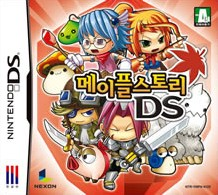 Box art for MapleStory DS