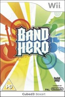 Box art for Band Hero