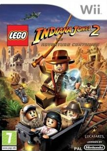 Box art for LEGO Indiana Jones 2: The Adventure Continues