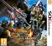 Box art for Monster Hunter 4 Ultimate