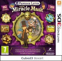 Box art for Professor Layton and the Miracle Mask