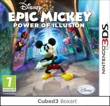 Box art for Disney Epic Mickey: Power of Illusion