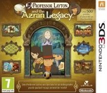 Box art for Professor Layton and the Azran Legacy