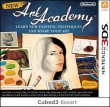 Box art for New Art Academy: Learn New Painting Techniques and Share Your Art