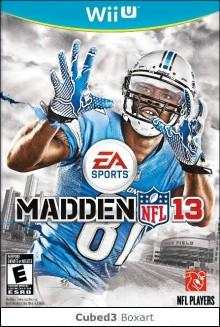 Box art for Madden NFL 13