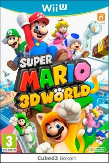 Box art for Super Mario 3D World