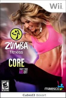 Box art for Zumba Fitness Core