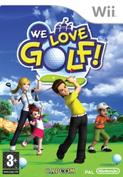 Box art for We Love Golf
