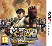Box art for Super Street Fighter IV: 3D Edition