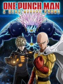 Box art for One Punch Man: A Hero Nobody Knows