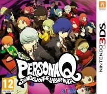 Box art for Persona Q: Shadow of the Labyrinth