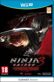 Box art for Ninja Gaiden 3: Razor's Edge