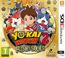 Box art for Yo-kai Watch 2: Fleshy Souls