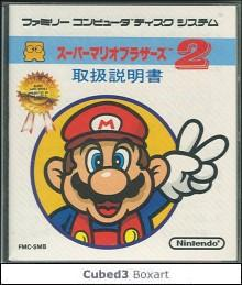 Box art for Super Mario Bros.: The Lost Levels
