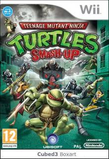 Box art for Teenage Mutant Ninja Turtles: Smash Up