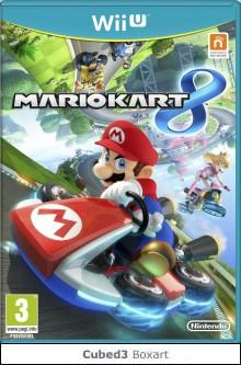 Box art for Mario Kart 8
