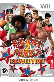 Box art for Ready 2 Rumble Revolution
