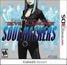 Box art for Shin Megami Tensei: Devil Summoner - Soul Hackers