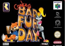 Box art for Conker's Bad Fur Day