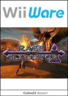 Box art for Rage of the Gladiator