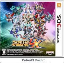 Box art for Super Robot Taisen UX