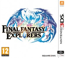 Box art for Final Fantasy Explorers