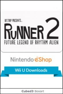 Box art for Runner 2: Future Legend of Rhythm Alien