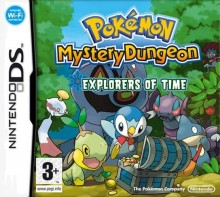 Box art for Pokémon Mystery Dungeon: Explorers of Time