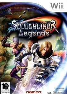 Box art for SoulCalibur Legends