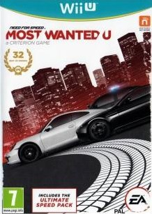 Box art for Need for Speed: Most Wanted U