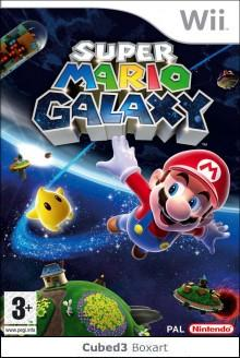 Box art for Super Mario Galaxy