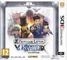 Box art for Professor Layton vs Phoenix Wright: Ace Attorney