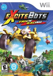 Box art for Excitebots: Trick Racing