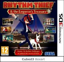 Box art for Rhythm Thief and the Emperor's Treasure