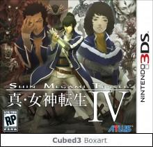 Box art for Shin Megami Tensei IV